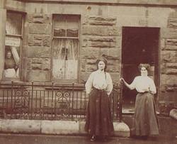 First dress making shop