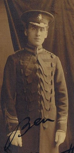 Ben Cohen in military uniform