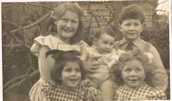 GERTA'S 4 CHILDREN AND SHELLI