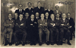 MY GRANDFATHER HOWARD WITH HIS PEERS IN