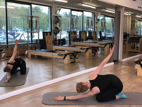45 Minutes Pilates Breathing and Co-ordination