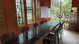 Salão dos Vitrais - Arrumação para cursos e treinamentos