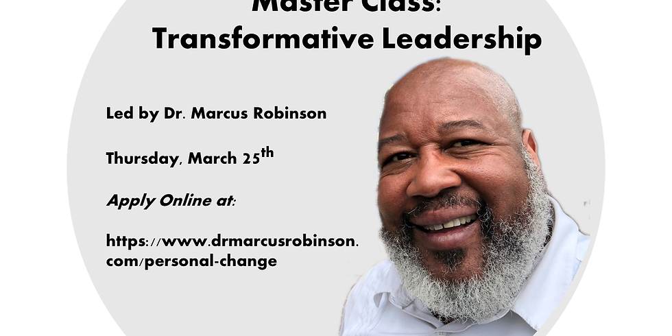 Master Class on Transformative Leadership