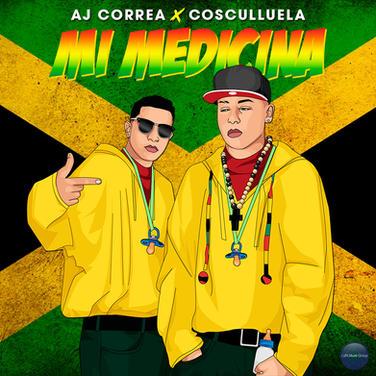 AJ Correa feat Cosculluela - Mi Medicina