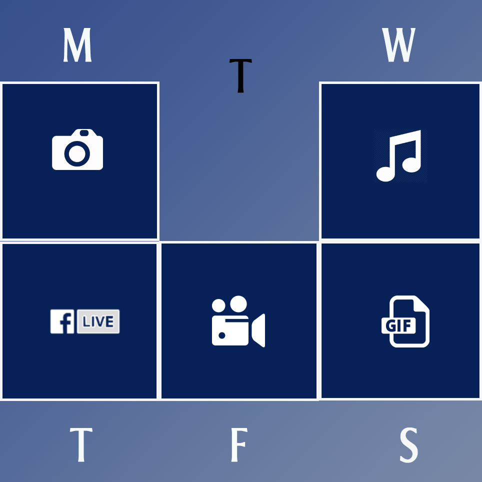 Example of Posts Schedule