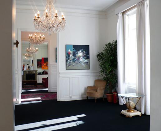 In a Parisian apartment
