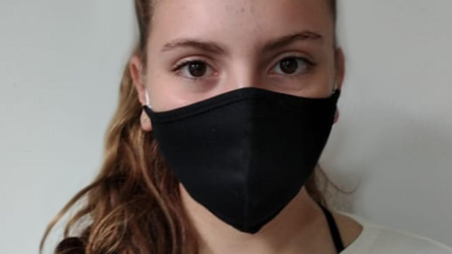 100 Máscaras Bico de Papagaio com viés e elástico confortável - modelo juvenil