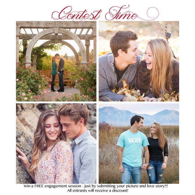 Win a free Engagement Session!!