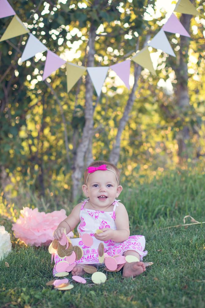 Cora's 1st Year Pics