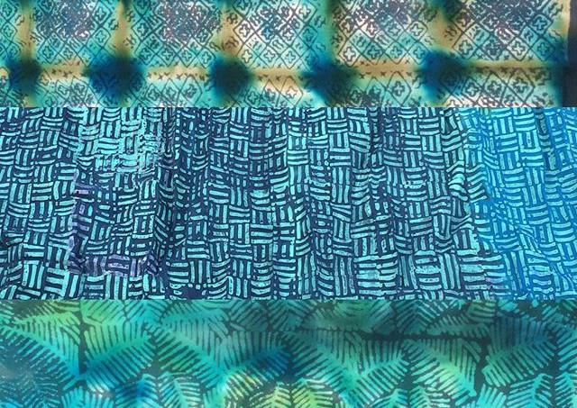 Batik Handprinted Textiles | Ecuador