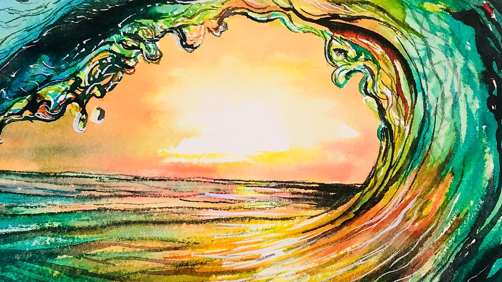 Wave of Emotions by Tricia Foley