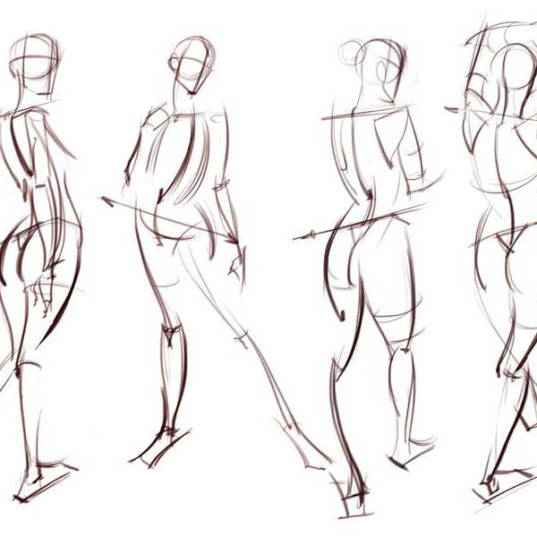 Figure Drawing Session