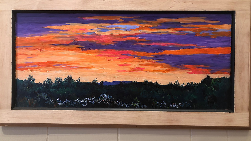 Quarantine Sunset by Robi Sallee