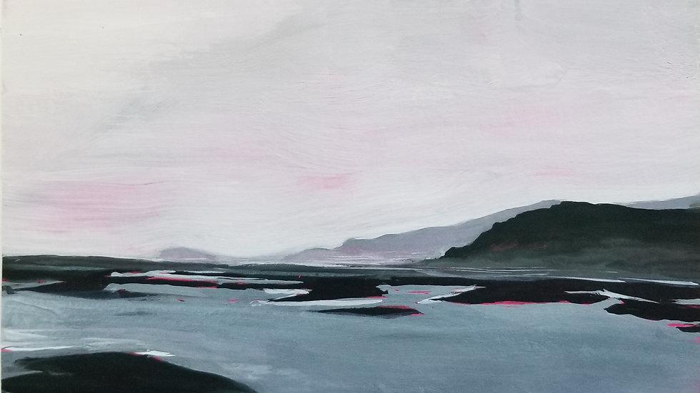 Misty Morning Iceland by Hannah Howard