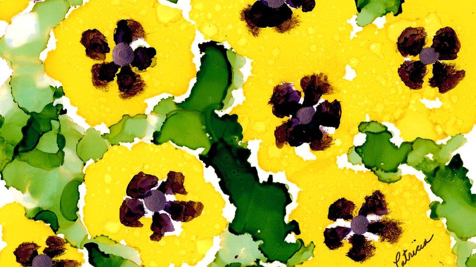 Pretty Pansies by Patricia Bolton