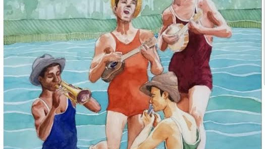 New River Jam by Hannah Howard