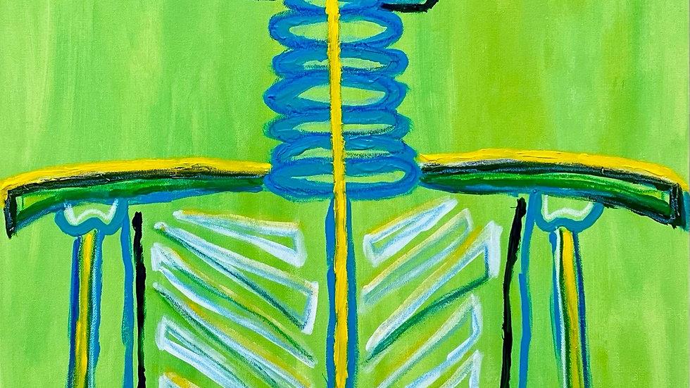 Skeleton #2 by Katelyn Stanley