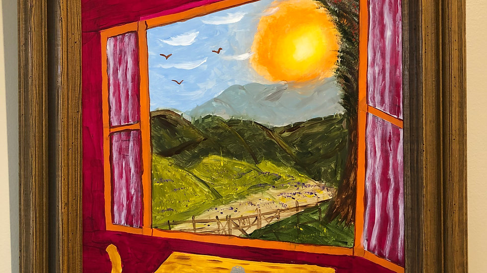Through the Window by David Pearce