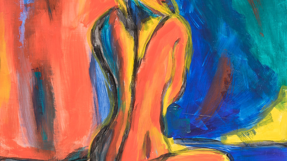 Colorful Figure by David Pearce