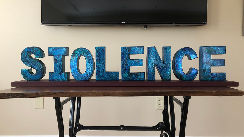 Silence IS Violence by Jane Gabrielle