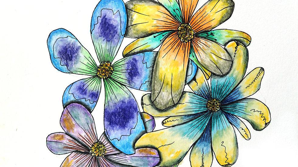 Flowers 1 by Sam Linkous
