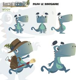Pilou le dinosaure