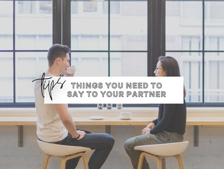 6 Things To Say To Your Partner Every Day