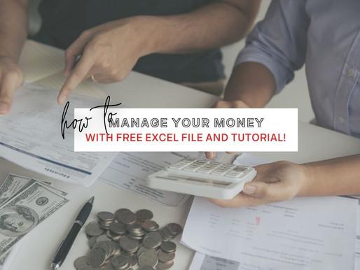 Where Did My Money Go? (Free Worksheet & Tutorial)