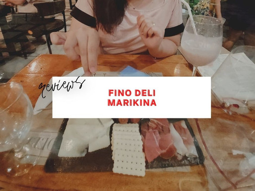 Fino Deli Review - A Great Date Place in Marikina!