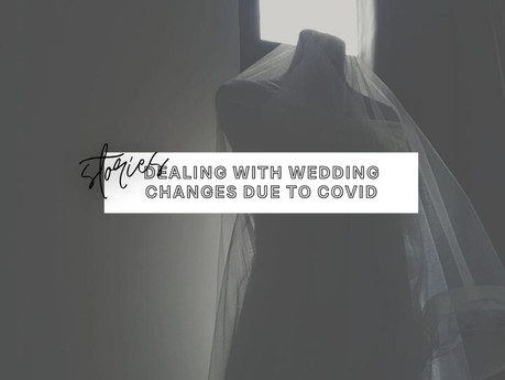 Feeling Sad About My Postponed Wedding