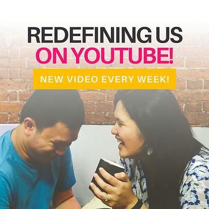 Redefining Us On Youtube