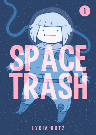 SPACE TRASH - 1 & 2 - A Tale of Mystery, Space & Trash