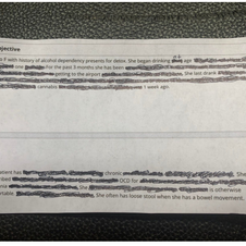 """Blackout Poetry: """"Getting to the Airport"""" & """"Altruistic Tums"""""""