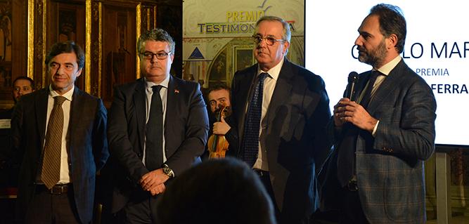 Premio Testimonza a Bianco e Maresca