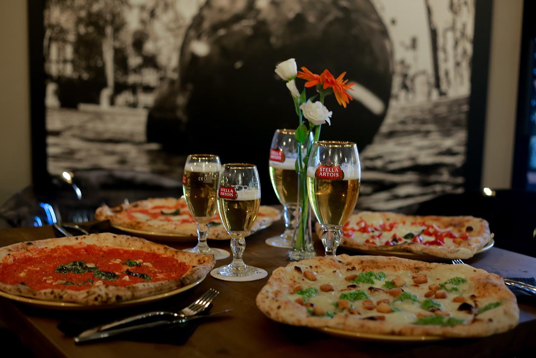 MARTUCCI Pizzeria. Press Taste