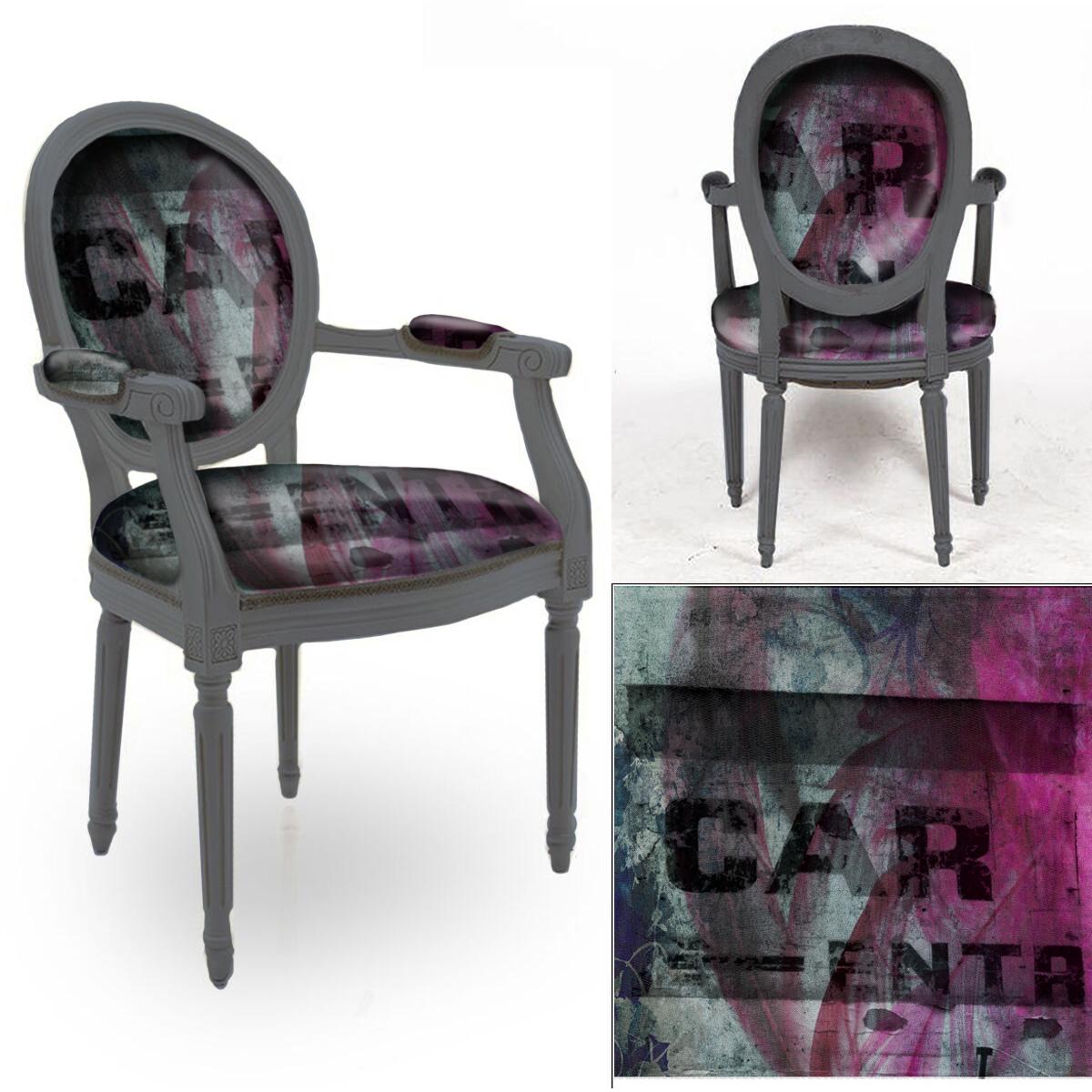 Chair Textile Design