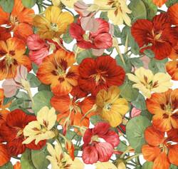 fall flower TILE