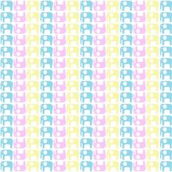 pink yelo blue elephant fill