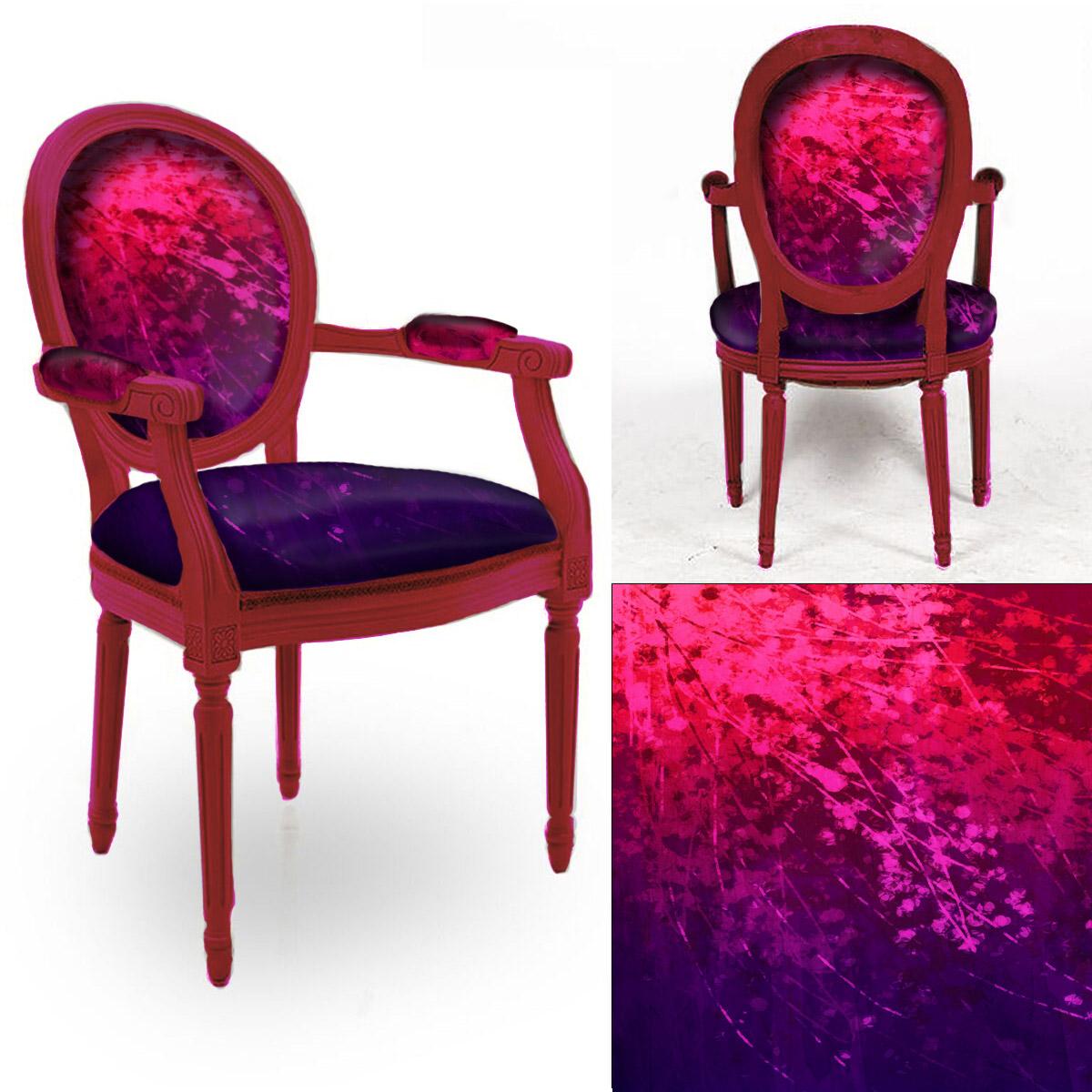 Marcus overlay spill chair
