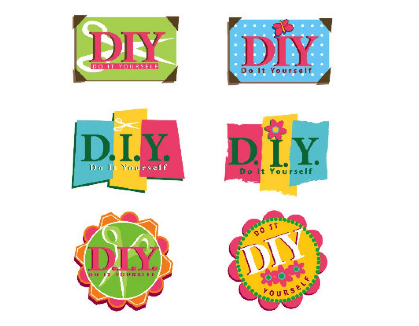 Do-it-Yourself logos