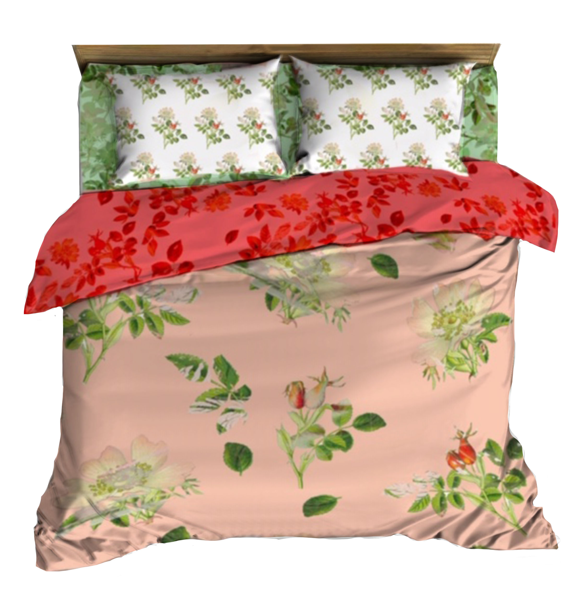 Composite floral bedding
