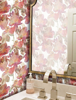Floral Overlay wallpaper