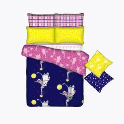 Fairy coordinating bedding
