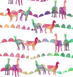 Llama coordinating pattern