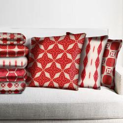 """Clement"" coordinating pillows"