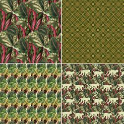 jungle patterns 2