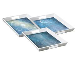Celestial serving trays