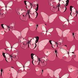LG pink butterflies fill on dkpink