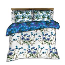 Blue Wildflower coordinatingbedding