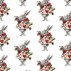 Alice in Wonderland coordinating patterns